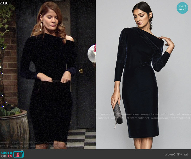 Reiss Valeria Dress worn by Phyllis Summers (Michelle Stafford) on The Young & the Restless