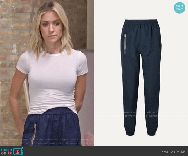 RtA Finn shell track pants worn by Kristin Cavallari  on Very Cavallari