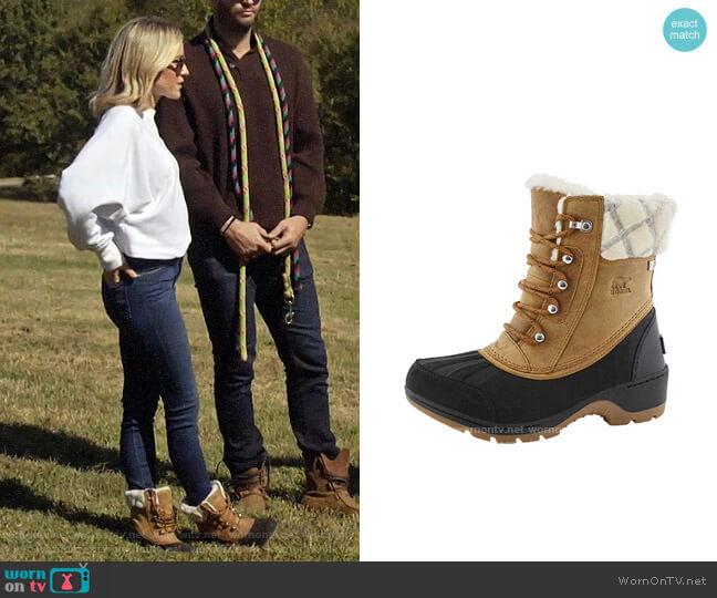 Sorel Whistler Boots worn by Kristin Cavallari  on Very Cavallari
