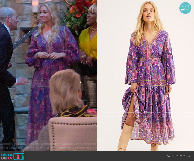 Spell and the Gypsy Collective Bianca Gown worn by Gemma (Beth Behrs) on The Neighborhood