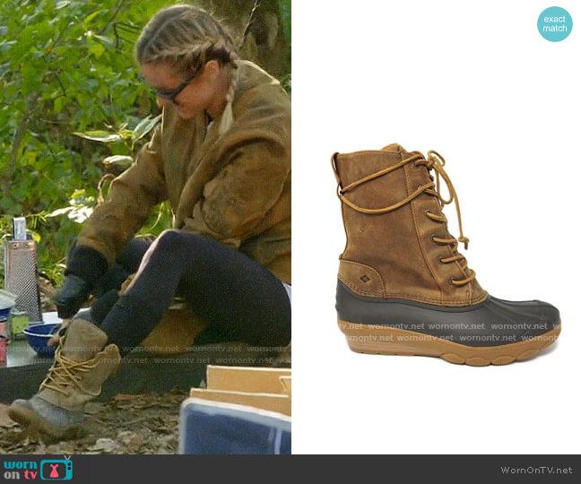 Sperry Saltwater Reeve Boots worn by Kristin Cavallari  on Very Cavallari