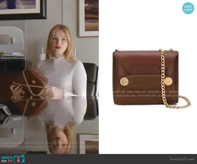 Stella Popper Shoulder Bag by Stella McCartney worn by Kirby Anders (Maddison Brown) on Dynasty