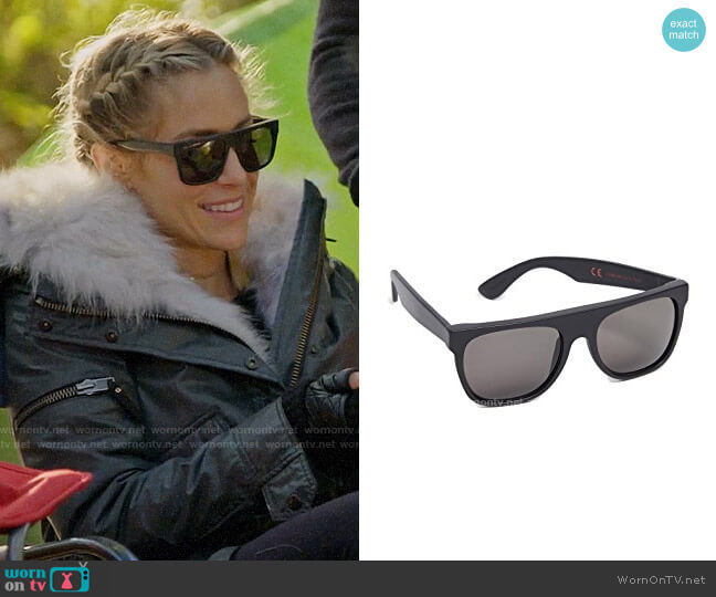 Super Sunglasses Flat Top Sunglasses worn by Kristin Cavallari  on Very Cavallari
