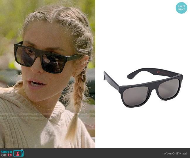 Super Sunglasses Flat Top Sunglasses worn by Kristin Cavallari  on Very Cavallari