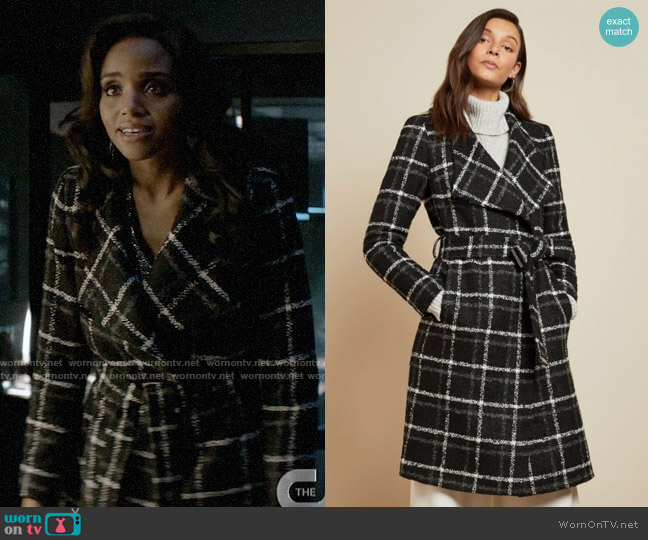 Ted Baker Rosylin Coat worn by Sohpie Moore (Meagan Tandy) on Batwoman