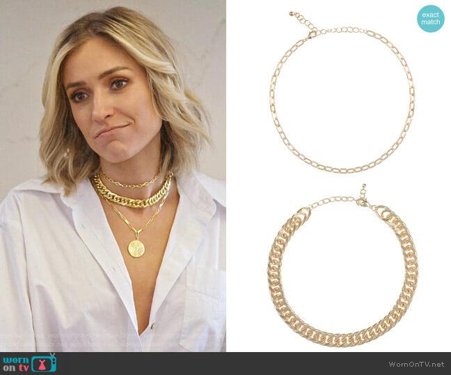 Uncommon James Choker Link Necklaces worn by Kristin Cavallari  on Very Cavallari