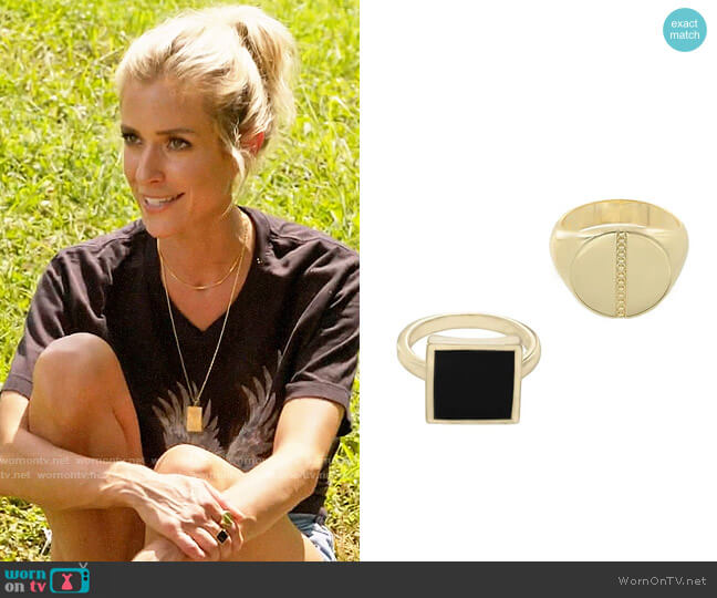 Uncommon James Highline and Chelsea Rings worn by Kristin Cavallari  on Very Cavallari