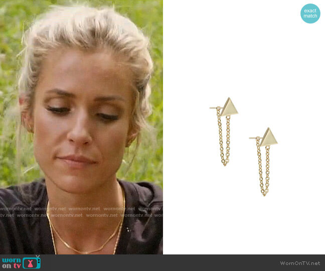 Uncommon James Refinery Earrings worn by Kristin Cavallari  on Very Cavallari