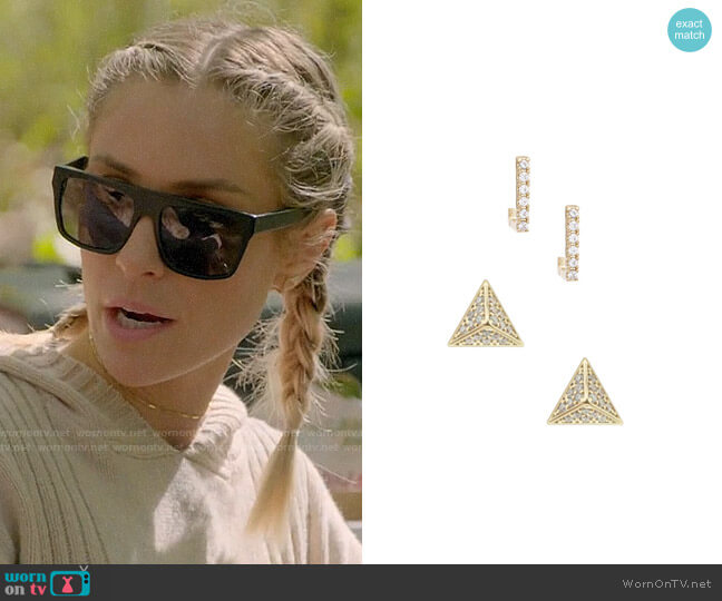 Uncommon James Ryman and Madison Earrings worn by Kristin Cavallari  on Very Cavallari