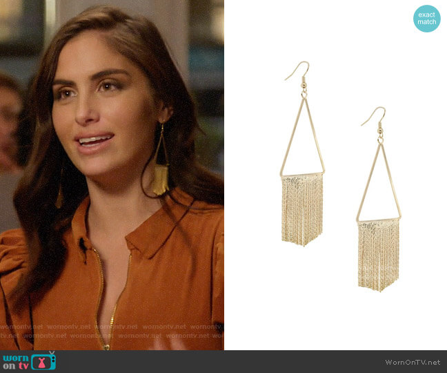 Uncommon James Union Square Earrings worn by Brittainy Taylor  on Very Cavallari