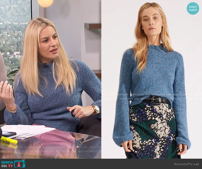 Alexey Pullover by Veronica Beard worn by Morgan Stewart  on E! News