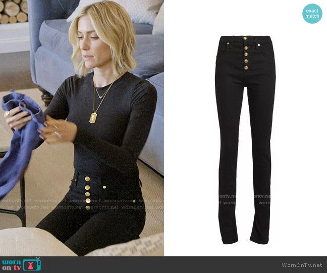 Veronica Beard Debbie Jeans worn by Kristin Cavallari  on Very Cavallari