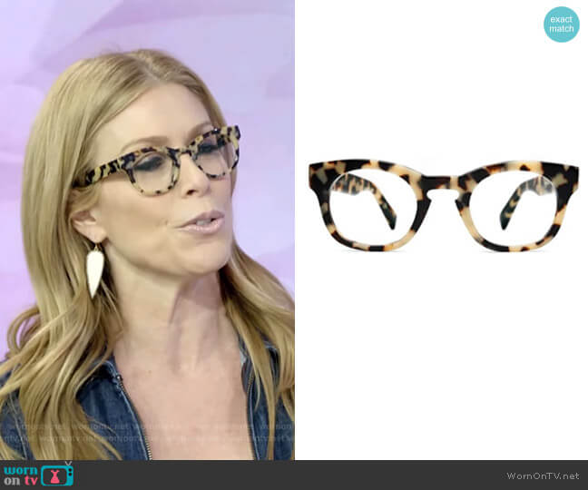 Kimball Eyeglasses  by Warby Parker worn by Jill Martin  on Today