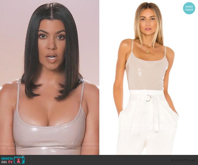 Reeve Bodysuit by Alix NYC worn by Kourtney Kardashian  on Keeping Up with the Kardashians