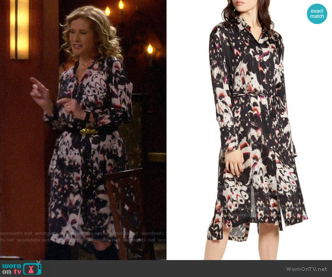 All Saints Anya Dress worn by Vanessa Baxter (Nancy Travis) on Last Man Standing