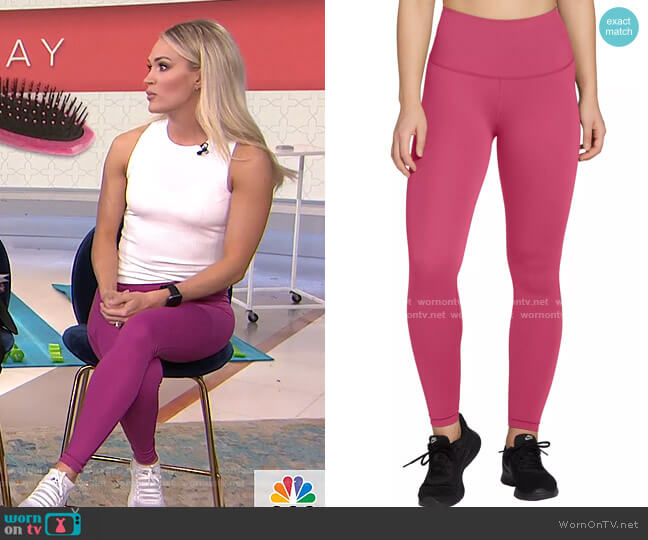Power Sculpt Leggings by CALIA by Carrie Underwood worn by Carrie Underwood on Today