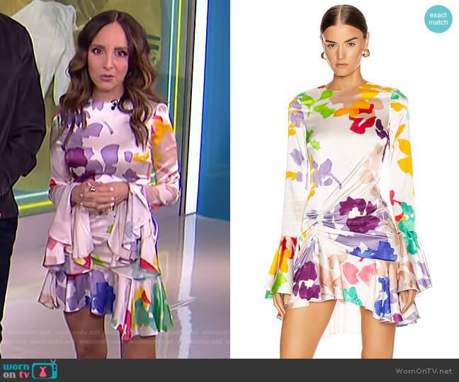 Monique Mini Dress by Caroline Constas worn by Lilliana Vazquez  on E! News