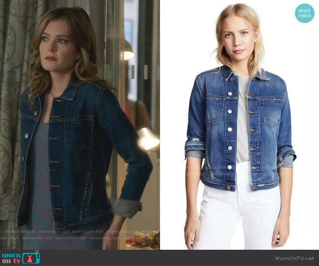 Celine Jacket by L'Agence worn by Sutton (Meghann Fahy) on The Bold Type