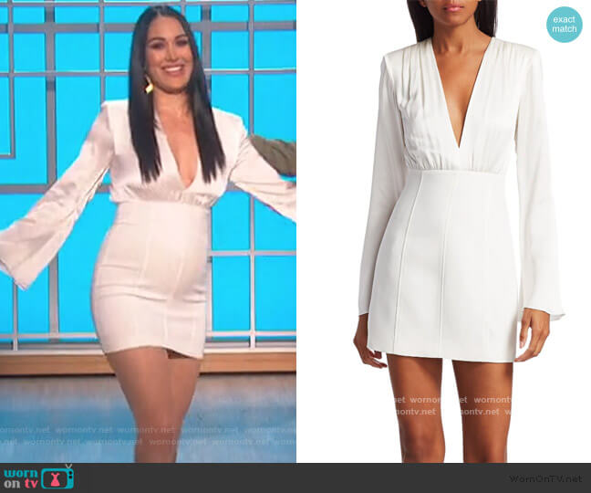 Sandy Dress by Cinq a Sept worn by Brie Bella on The Talk