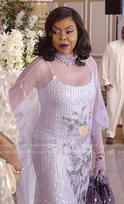 Cookie's lilac floral tulle dress on Empire