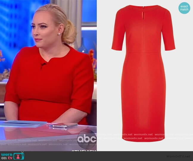 Maura Dress by Hobbs worn by Meghan McCain  on The View