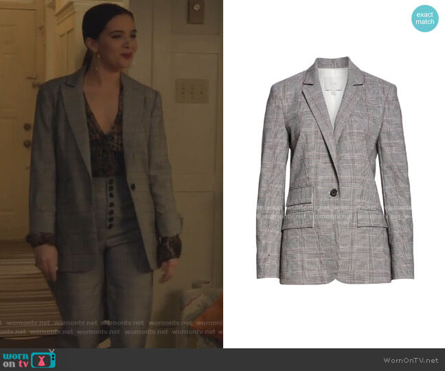 Aalyah JAcket by Joie worn by Jane Sloan (Katie Stevens) on The Bold Type