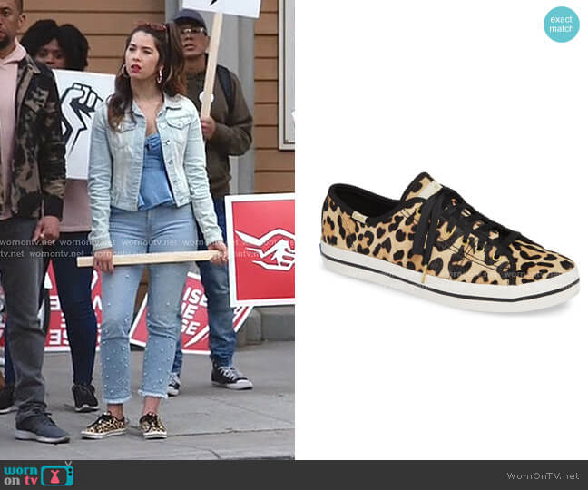 New York Kickstart Sneaker by Keds x kate spade worn by Cheyenne (Nichole Bloom) on Superstore