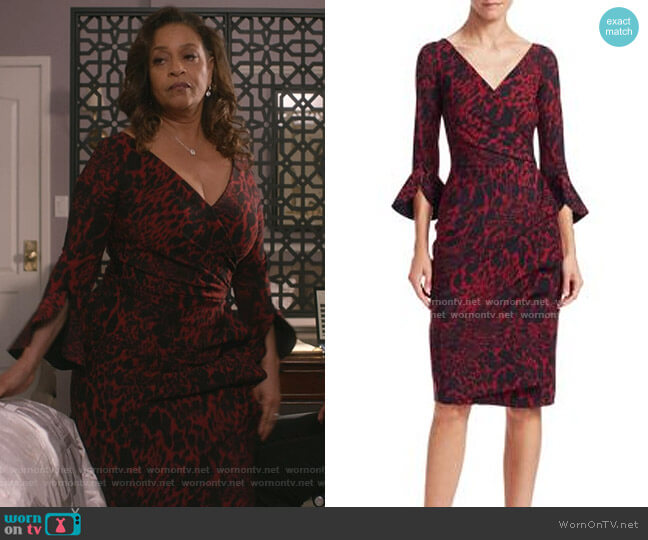 Triana Dress by La Petite Robe di Chiara Boni worn by Catherine Avery (Debbie Allen) on Greys Anatomy