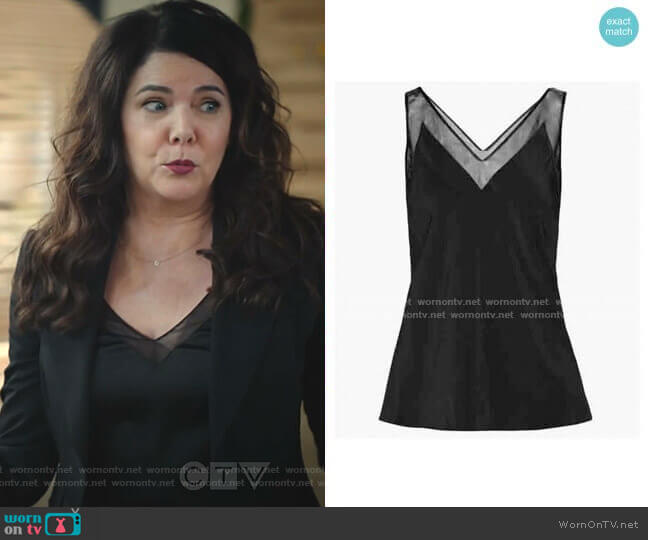 Leiaa Camisole by Ted Baker worn by Joan (Lauren Graham) on Zoeys Extraordinary Playlist
