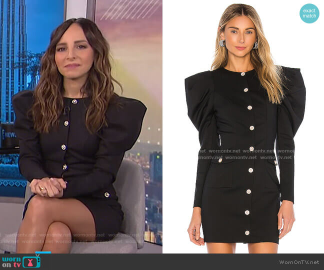 Coretta Mini Dress by Majorelle worn by Lilliana Vazquez  on E! News