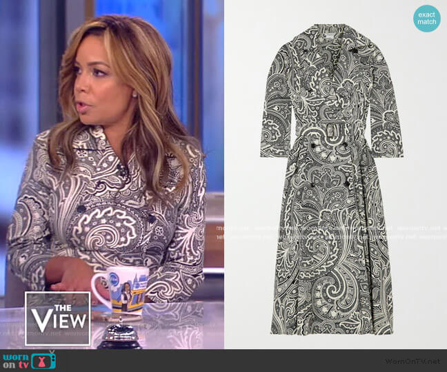 Addobbo Dress by Max Mara worn by Sunny Hostin  on The View