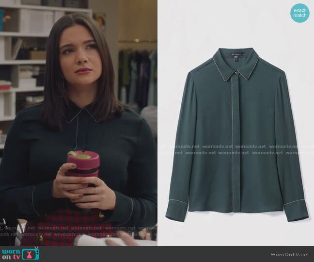 Mila Blouse by Judith & Charles worn by Jane Sloan (Katie Stevens) on The Bold Type