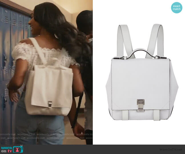PS Courier Small Backpack by Proenza Schouler worn by Layla Keating (Greta Onieogou) on All American