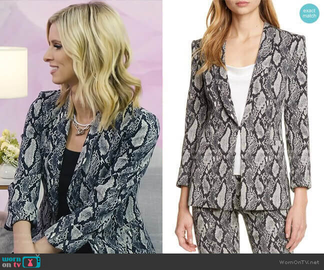 Richie Jacket by Alice + Olivia worn by Nicky Hilton on Today Show