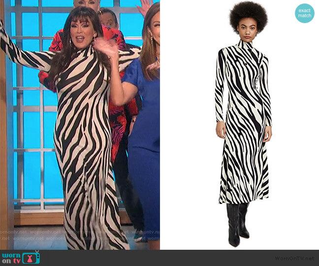 Adair Dress by Ronny Kobo worn by Marie Osmond  on The Talk