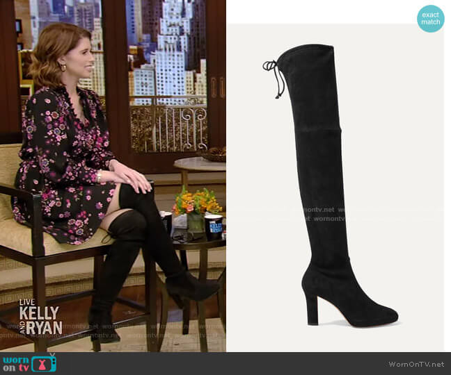 Ledyland Suede Over-the-Knee Boots by Stuart Weitzman
