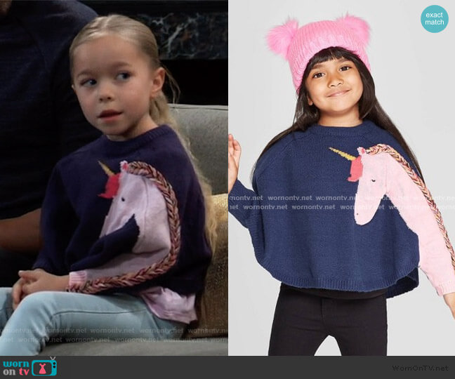 Unicorn Pullover by Cat & Jack at Target