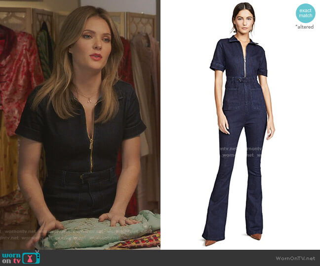 The Jumpsuit by WeWoreWhat worn by Sutton (Meghann Fahy) on The Bold Type