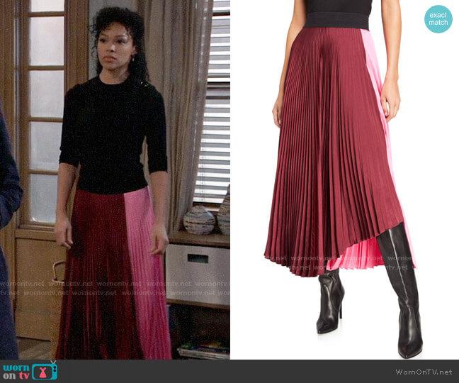 ALC Grainger Skirt worn by Portia Robinson (Brook Kerr) on General Hospital