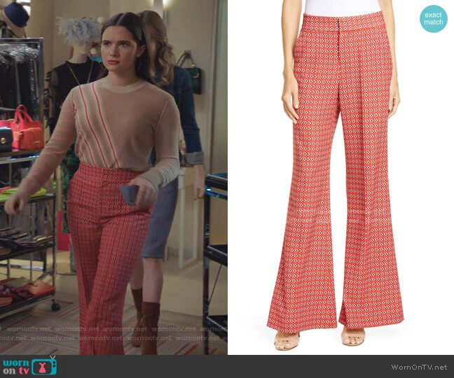 Dylan Pants by Alice + Olivia worn by Jane Sloan (Katie Stevens) on The Bold Type