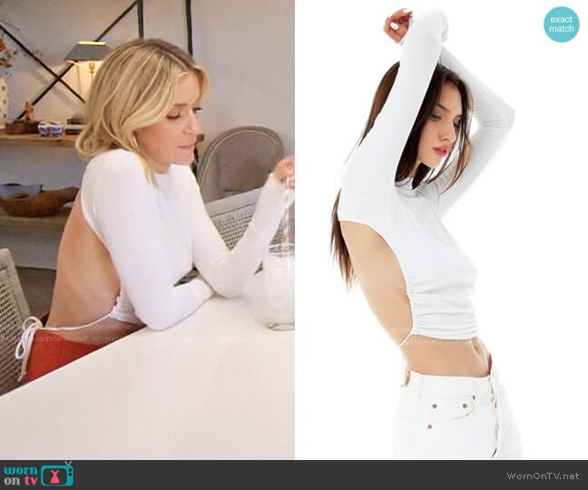 Are You Am I Saia Top worn by Kristin Cavallari  on Very Cavallari