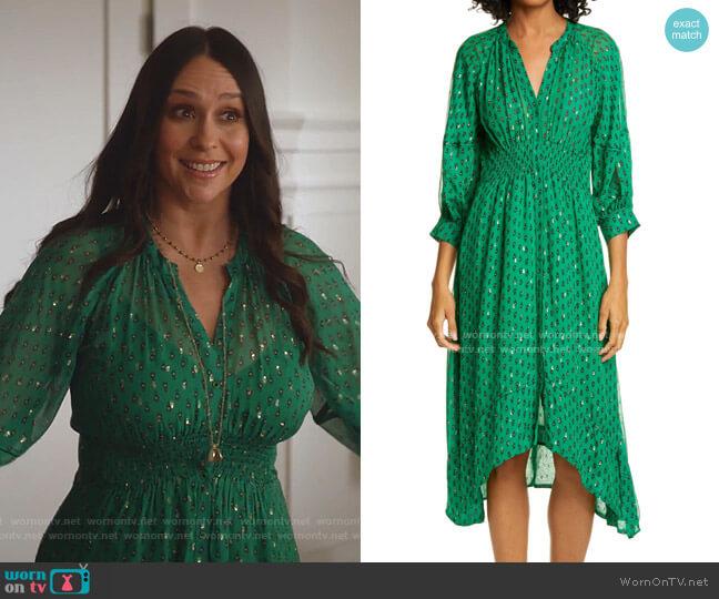 Cyana Dress by Ba&Sh worn by Maddie Kendall (Jennifer Love Hewitt) on 9-1-1