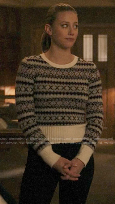 Betty's fair isle sweater on Riverdale