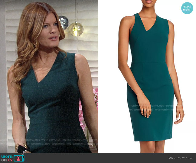 Black Halo Quinten Dress worn by Phyllis Summers (Michelle Stafford) on The Young & the Restless