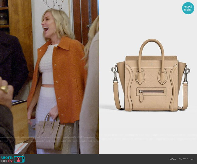 Celine Nano Luggage Bag worn by Kristin Cavallari  on Very Cavallari