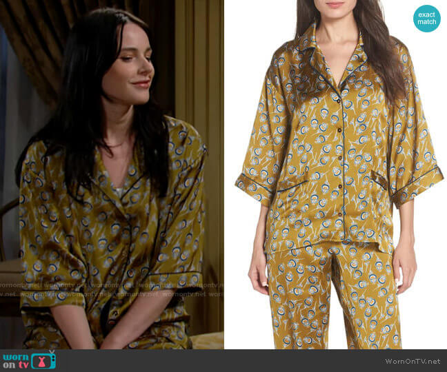 Chelsea28 Ella Pajamas worn by Tessa Porter (Cait Fairbanks) on The Young & the Restless