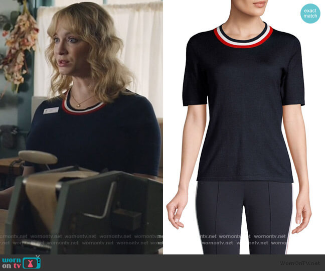 Srin Color Tipped Shell by Escada worn by Beth Boland (Christina Hendricks) on Good Girls