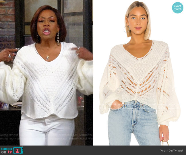 Free People Snowball Sweater worn by Tina (Tichina Arnold) on The Neighborhood