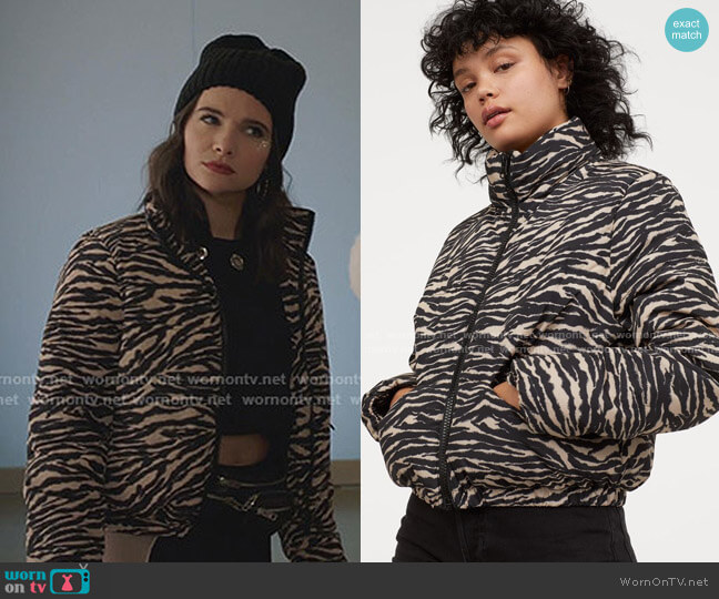 Padded Jacket by H&M worn by Jane Sloan (Katie Stevens) on The Bold Type