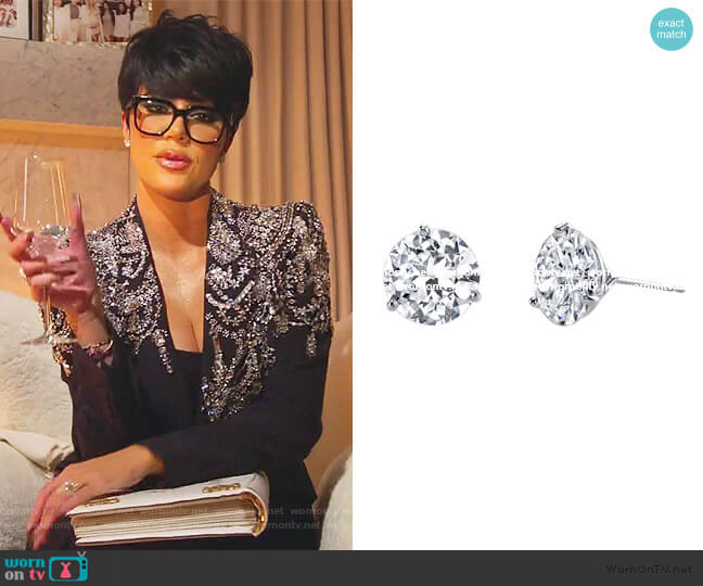 J-6023 Earrings by Harry Kotlar worn by Khloe Kardashian  on Keeping Up with the Kardashians